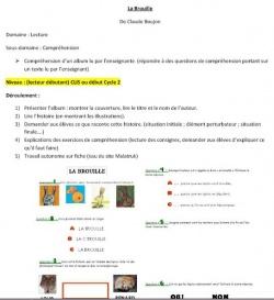 """Littérature ASH : lecture autour de """"la brouille"""" en CLIS"""