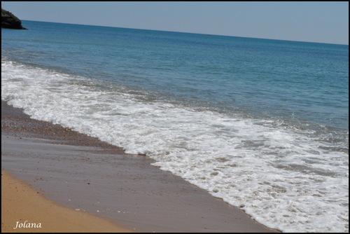 vague plage