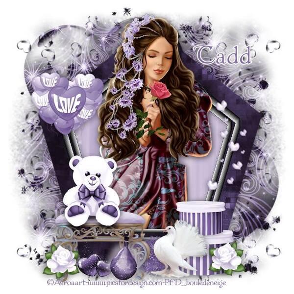 Be Mine My Love (purple)