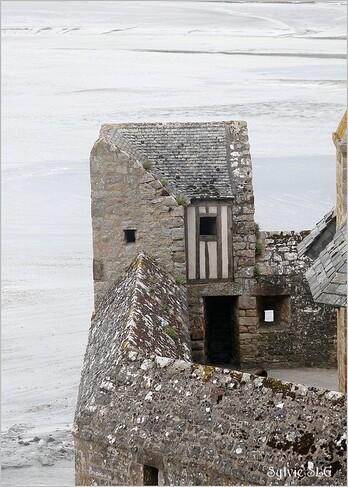 Le Mont St Michel - Grandes marées mars 2015