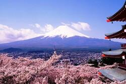 Le mont Fuji 富士山
