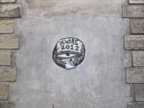 Beware 2012 street-art