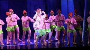 dance ballet spongebob square pants of broadway