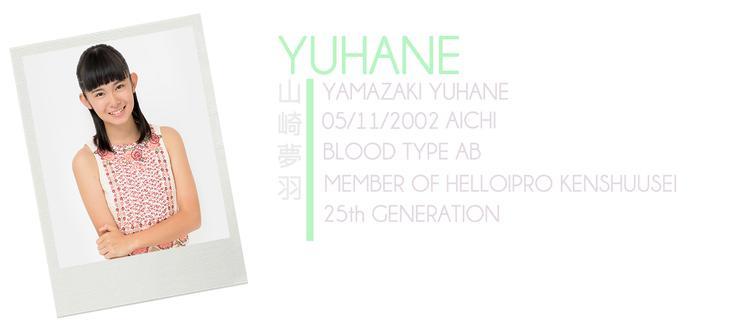 YAMAZAKI YUHANE