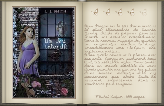 « Un jeu interdit [01] » de L. J. Smith