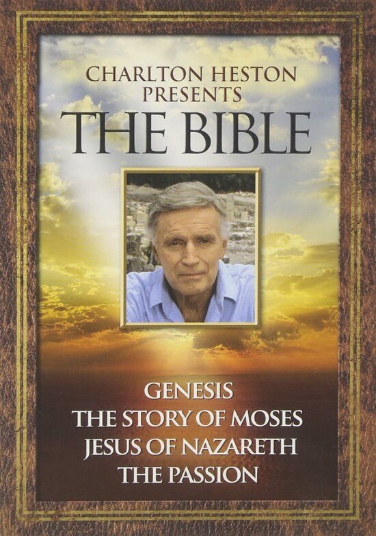 CHARLTON HESTON PRESENTE LA BIBLE