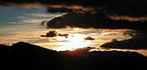 S-G-T-Coucher de soleil sur la Serra de Cadi - Espagne-1