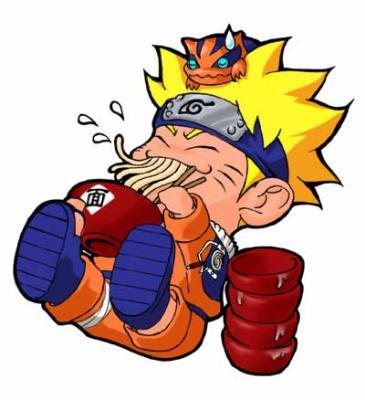 t'aime bien les nouilles Naruto moi aussi!