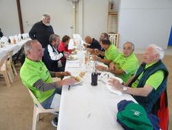 Repas de midi avec joueurs et Bénévoles le samedi 7 octobre 2017