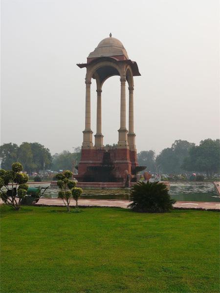 Indian gate, la porte de l'Inde à Delhi