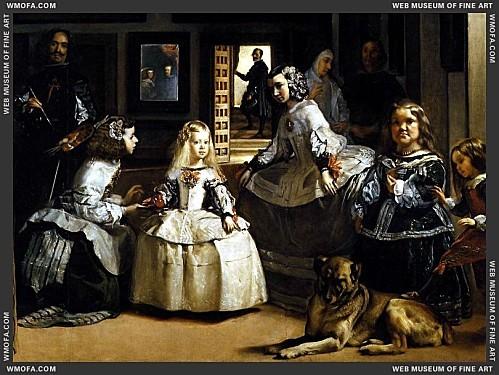 Las Meninas - detail - 1656-1657