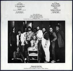 1981 : Shooting avec les musiciens de Little Darlin' / EXCLUSIF !