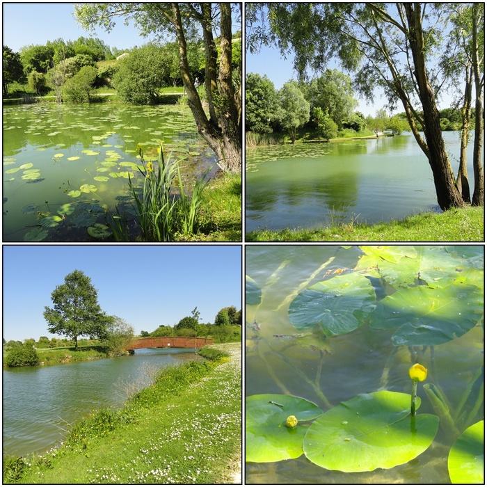 Trizay - Jardins et Lac