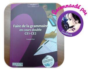 Faire de la grammaire en cours double CE1-CE2