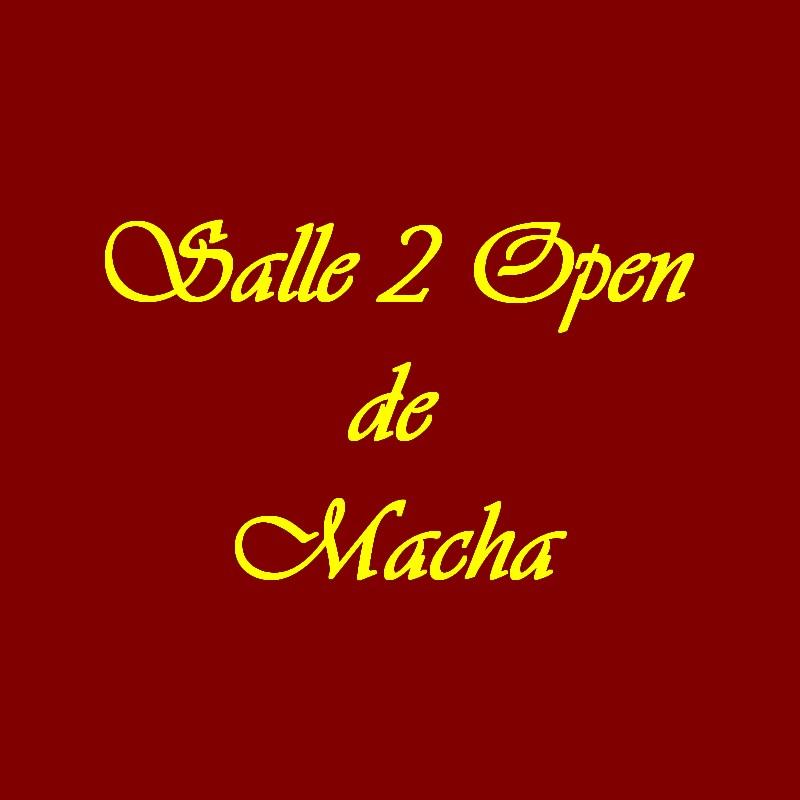 Salle 2 open de Macha