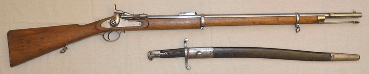 Mon Two Bands Short Rifle Enfield Snider