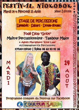 ★ Stages Percussions / Djembés & Sabars