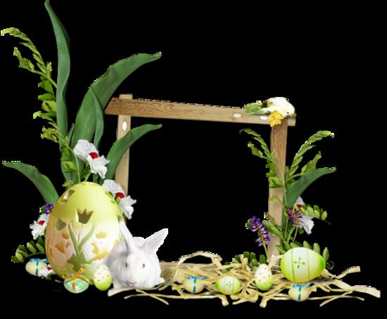 Cadres clusters Pâques