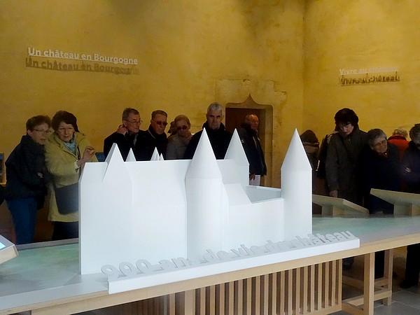Un beau voyage à Châteauneuf en Auxois avec l'Association Culturelle Châtillonnaise