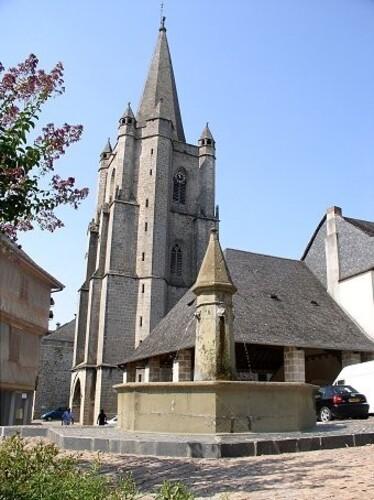Donzenac église
