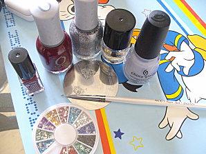 parfum de lavande nail 006
