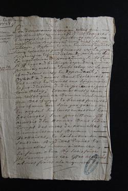 1724. Etablissement des levées des différentes impositions.