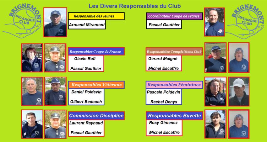 Bureau Directeur saison 2016.
