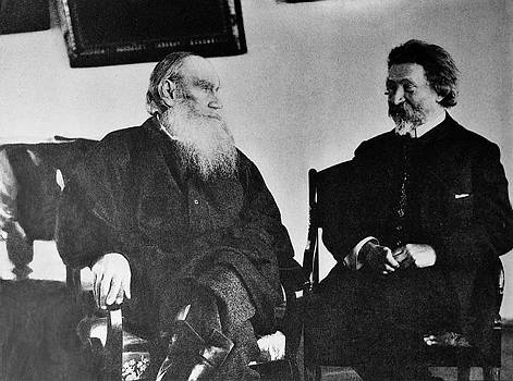 Leo Tolstoy and Ilya Repin