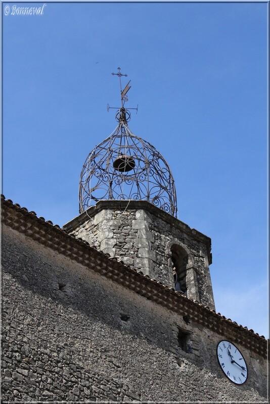 Campanile Eglise Notre Dame de la Purification LaurisVaucluse