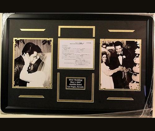 1er mai 1967 Elvis se marie avec Priscilla