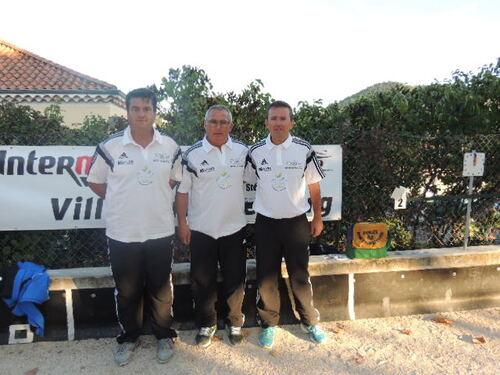 Equipe double Serge Brousset