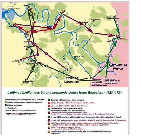 LES REMPARTS DE MONTFORT-SUR-RISLE (Eure)