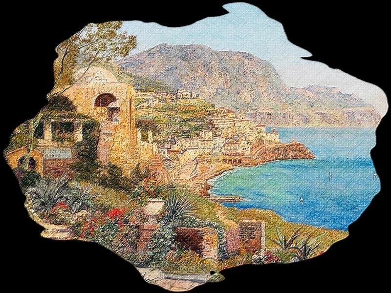 Tubes paysages reliefs