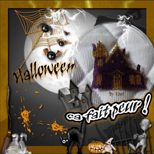 Perlages d'Halloween