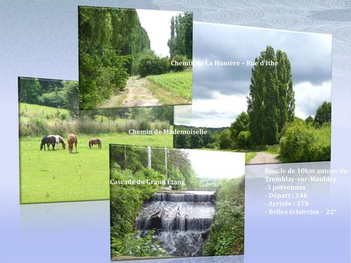 Boucle de 10 km autour du Tremblay-sur-Mauldre
