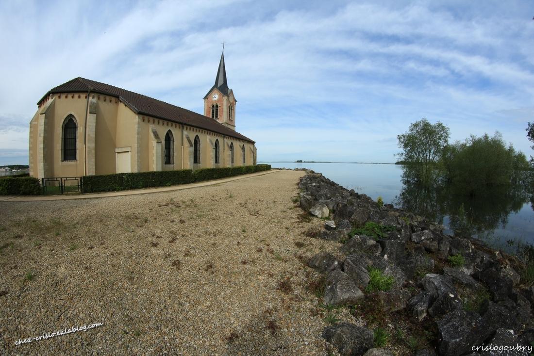 Eglise de champaubert aux bois (Lac du Der)