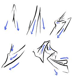 exemples de plis