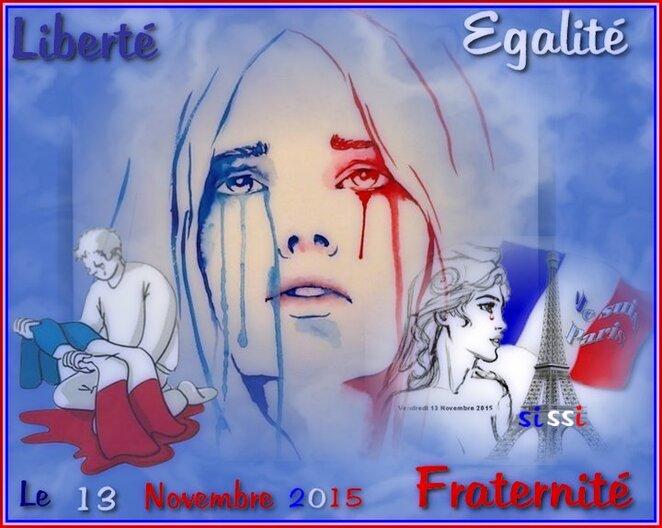 Hommage aux victimes du 13 Novembre 2015