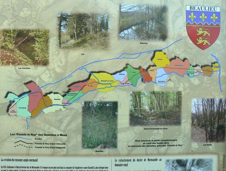 LES REMPARTS DE CHAUVIGNY (Orne)