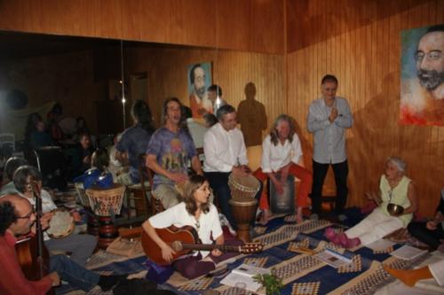 Rencontre bhajans janvier 2014 à Grenoble