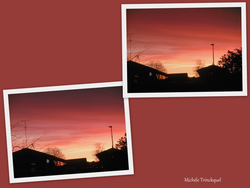 Le ciel au matin du 20 novembre....