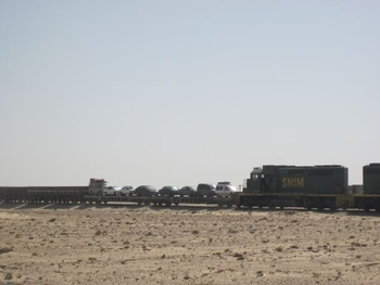 Mauritanie Train le plus long du monde 2