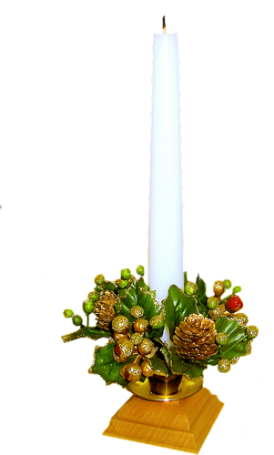 Bougies de Noël Série 8