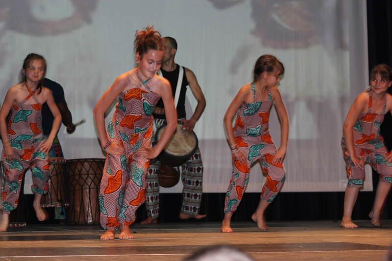 Danse africaine, juin 2013