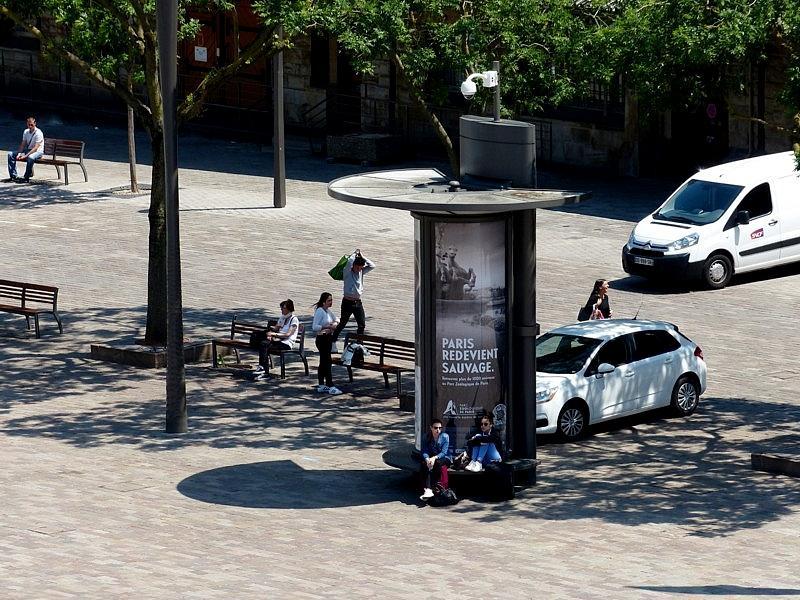 Metz / Au dessus de la gare depuis l'hôtel Alerion...