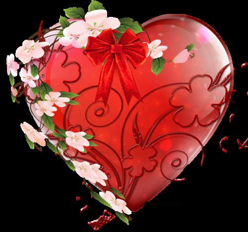 Cœur en fleur