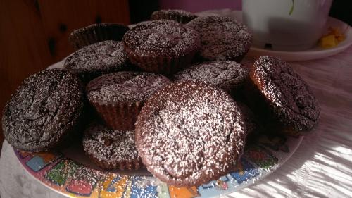 Moelleux au chocolat/pois-chiche/dattes