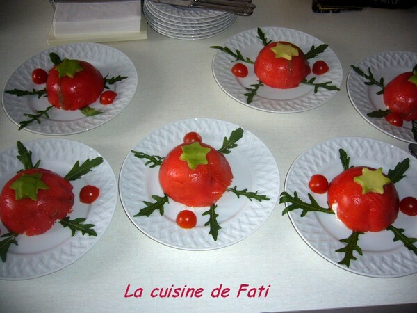 Mousse fromage blanc au saumon