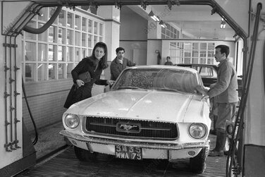 1967 / 1968 : FORD MUSTANG