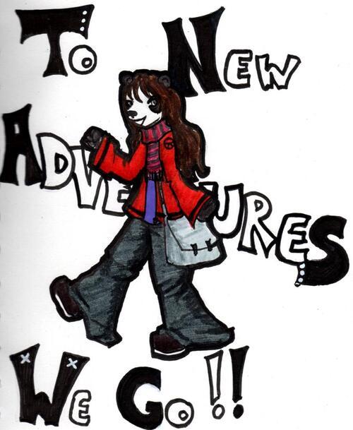 En route pour de nouvelles aventures